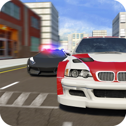 Real Police Gangster Chase: Police Cop Car Games