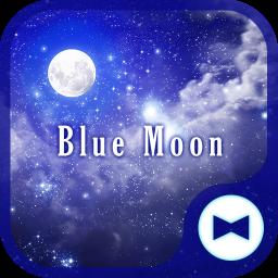 Fantasy Wallpaper Blue Moon Theme