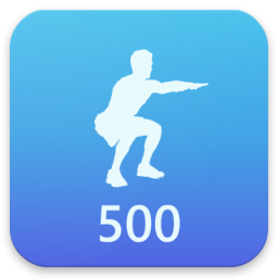 500 Squats - Ultimate Workout