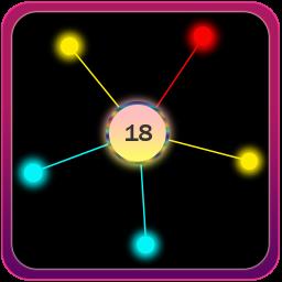 Crazy Pin Ball Circle Taping - Spinning Wheel Game