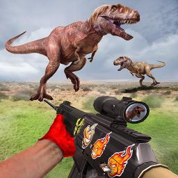 Dino Hunter Shooter 3D :Wild Animal Shooting Games