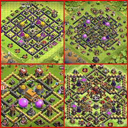 Maps of Clash of Clans 2020