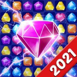 Jewels Crush Legend- Diamond & Gems Free Match 3