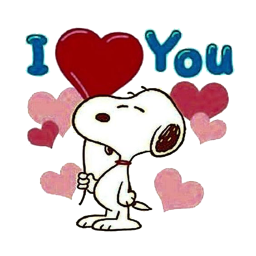 Cute Snoopy Stickers For Whatsapp