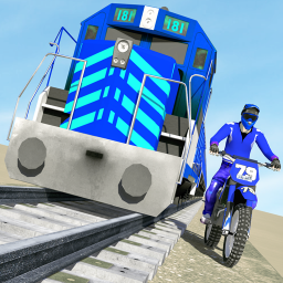 Bike vs. Train – Top Speed Train Race Challenge