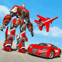 Real Air Jet Fighter - Grand Robot Shooting Games