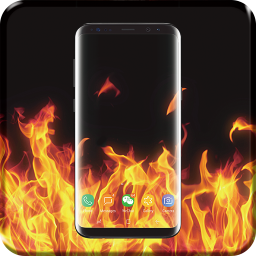 3D Fire Video Live Wallpaper PRO
