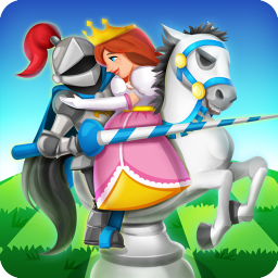 Knight Saves Queen - Brain Training Chess Puzzles