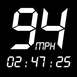 GPS Speedometer : Odometer: Trip meter + GPS speed