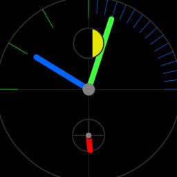 OnTime Clock Live Wallpaper