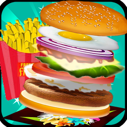 Burger Maker Chef Cooking Game