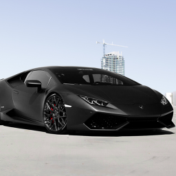 Black Lamborghini Huracan Wallpaper