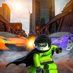 Flying Rope Hero - Superhero games Vice Town Crime
