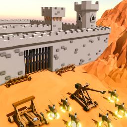 River Site Castle Wall Defense: In Siege Battle