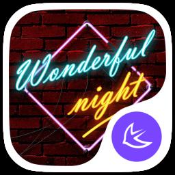Stylish Night theme for APUS