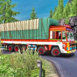 Indian Truck Spooky Stunt : Cargo Truck Driver 2