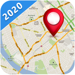 GPS Street View, Route Map & Voice Direction