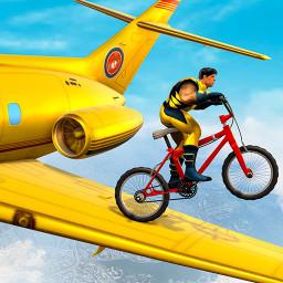 Super hero Cycle Stunt Racing