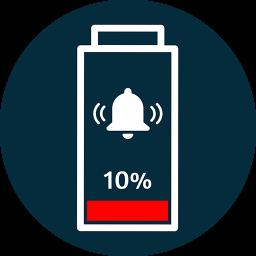 Battery Percentage Voice Alert- Battery Full Alarm