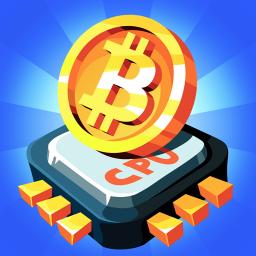 The Crypto Merge - bitcoin mining simulator