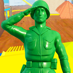 Army Men Toy Squad Survival War Shooting