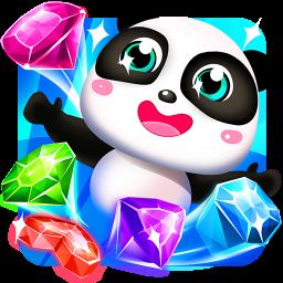 Panda Gems - Treasure Hunters & Jewel Match 3 Game