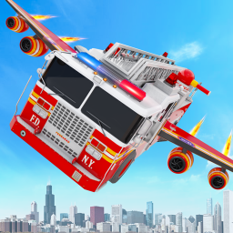 Fire Truck Games - Firefigther
