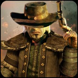West Wild Gunfighter: Western cowboy Gun shooting