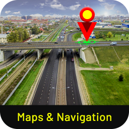 GPS Route Tracker- Street View maps & directions