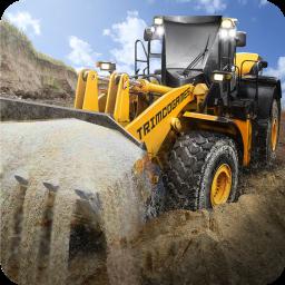 Loader & Dump Truck Hill SIM