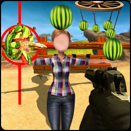 Wicked Watermelon Shooter : Crazy Boss Shooting