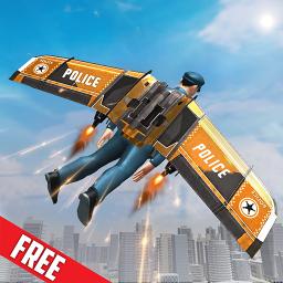 Flying Jetpack Hero:Miami Gangster Crime Simulator
