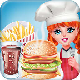 Smoky Burger Maker Chef-Cooking games for girls