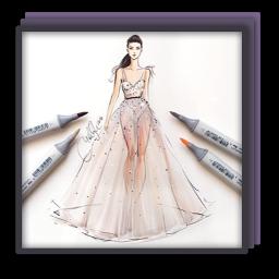 Fashion Sketch Drawing