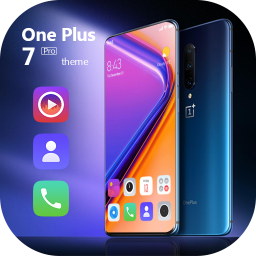 Colorful theme OnePlus 7 Pro launcher