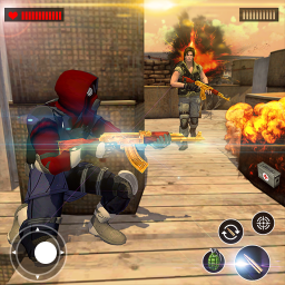 Real Commando Free Shooting Game: Secrete Missions