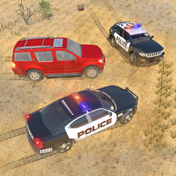 Offroad Jeep Prado Driving - Police Chase Games
