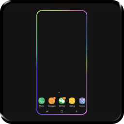 Galaxy phone Edge Lighting Live Wallpaper