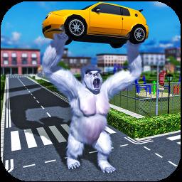 Gorilla Rampage: Angry Kong City Attack