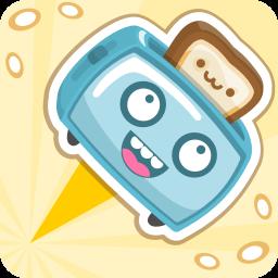 Toaster Dash - Fun Jumping Game