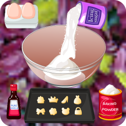 ice cream cookie cooking games