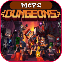DUNGEONS— Minecraft MMO Map For Minecraft PE