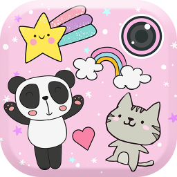 Cute Photo Editor with Stickers