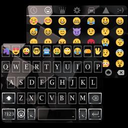 Business Black Emoji Keyboard