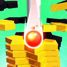 Happy Stack Ball-crush helix super jump