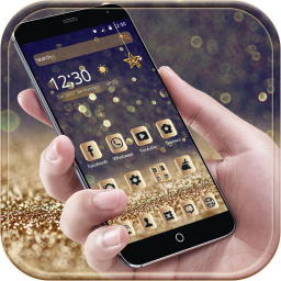 Luxury gold Theme deluxe Gold