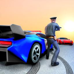 Police Car Simulator Gangster Chase:Car Games 2021