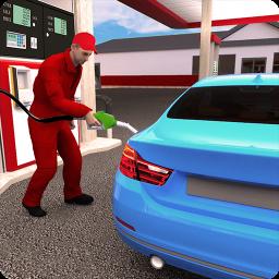 Real Car Wash Job: Gas Station Car Parking Games
