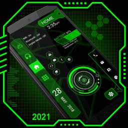 Strip Hi-tech Launcher 2021 App lock, Hitech theme