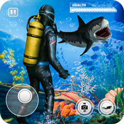 Secret Agent Scuba Diving Underwater Stealth Game